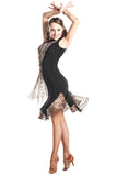 """Safari Chic"" Latin Dance Dress"