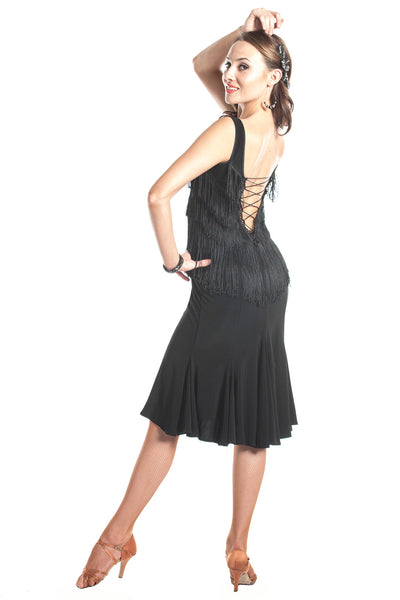 """Shall We Dance"" Latin Dress - DanceLuxe Boutique"