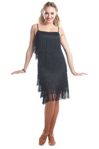 """Shake it up"" Fringe Dance Dress - DanceLuxe Boutique"