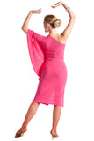 """Fabulous in Pink"" Latin Ballroom Dance Dress - DanceLuxe Boutique"