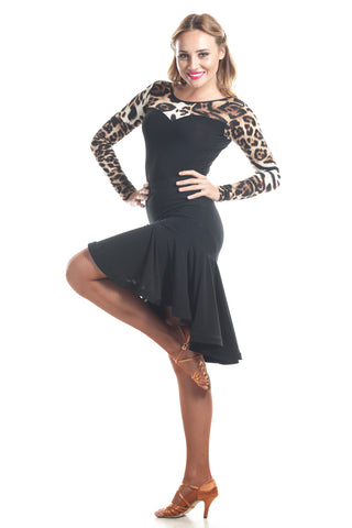"""Gabbana"" Latin Dance Skirt - DanceLuxe Boutique"