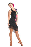 """Blooming Fantasy"" Latin Dance Dress - DanceLuxe Boutique"