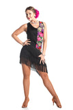 """Blooming Fantasy"" Latin Dance Dress"