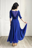 """Anastasia"" Blue Ballroom Dress - DanceLuxe Boutique"