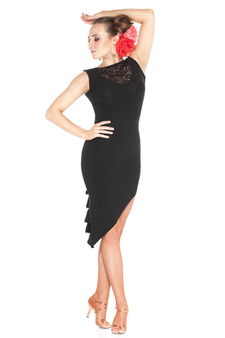 """Extravaganza"" Latin Dance Dress - DanceLuxe Boutique"