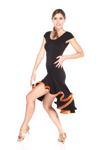 """Te Amo"" Latin Dance Dress - DanceLuxe Boutique"