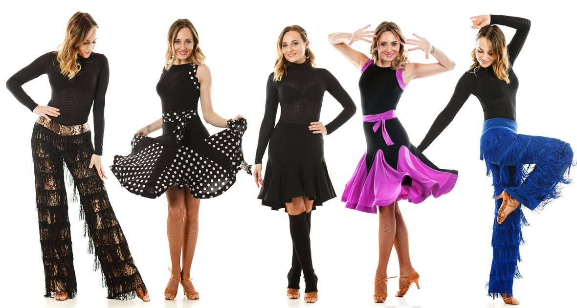Latin Dance Wear Collection