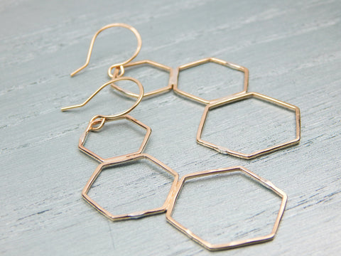 Aine Gold Filled Earrings