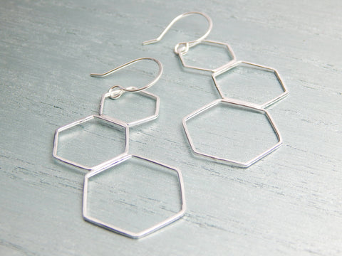 Aine Silver Earrings