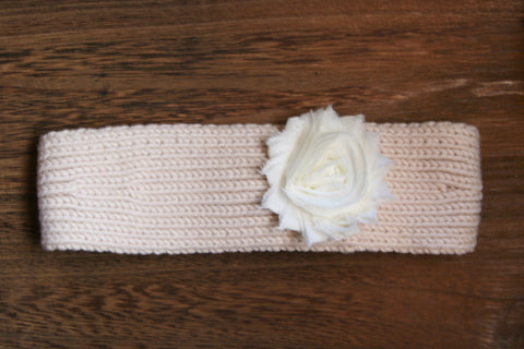 Knit Headwrap in Cream
