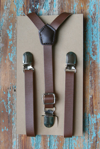 The Emmett Suspender in Brown