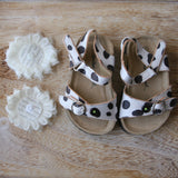 SALE - The Ellie Birk in Cow Print - Toddler Size