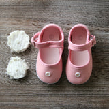 Mary Jane Flat in Pink - Infant Size