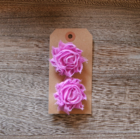 Mini Shabby Rose in Lilac
