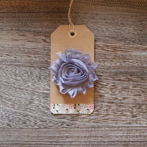 Shabby Rose in Silver Grey