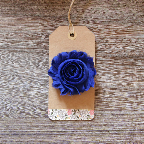 Shabby Rose in Cobalt Blue