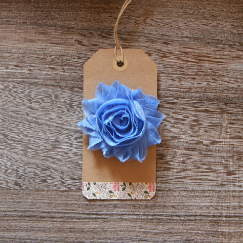 Shabby Rose in Cornflower Blue