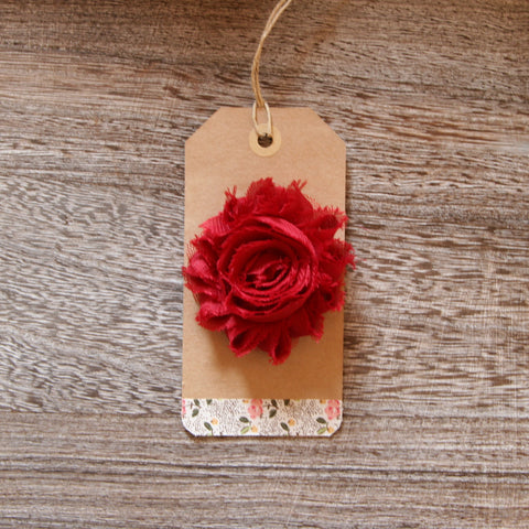 Shabby Rose in Rasberry