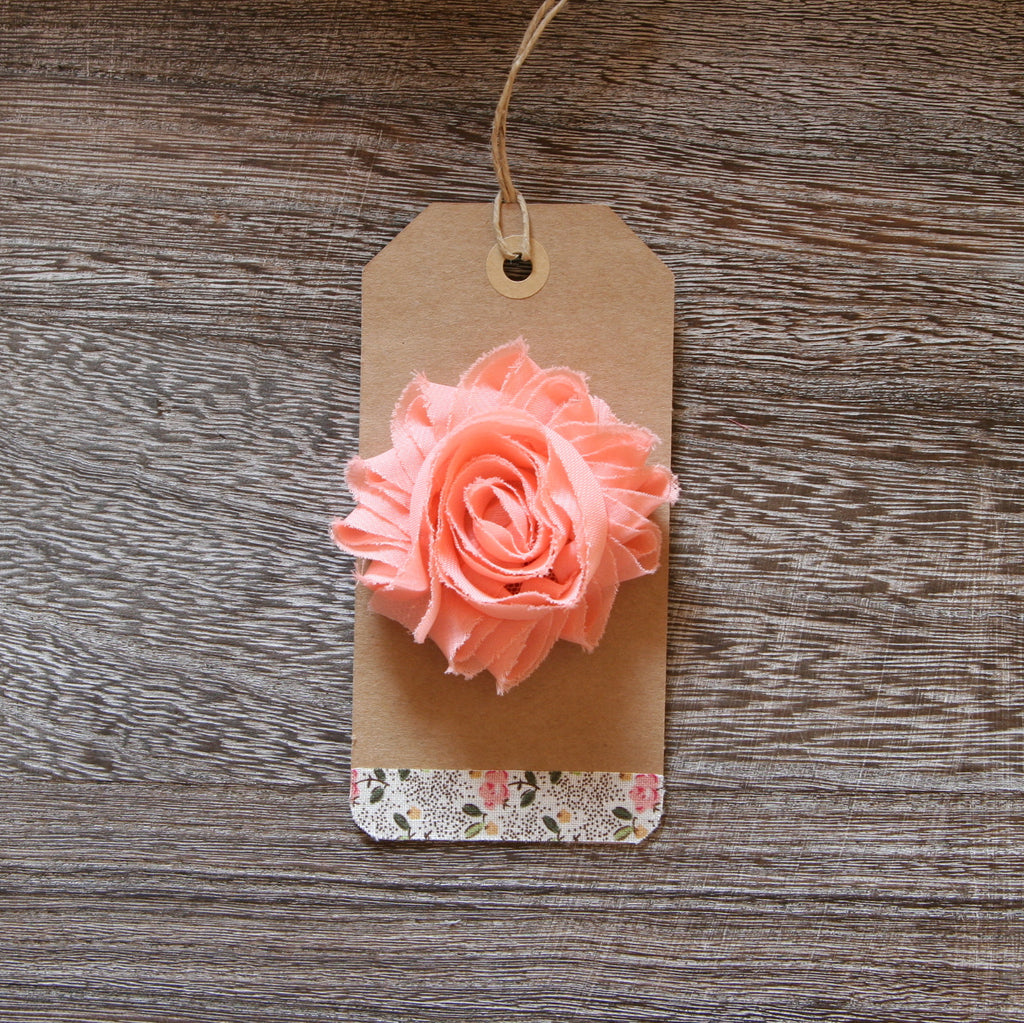 Shabby Rose in Peach