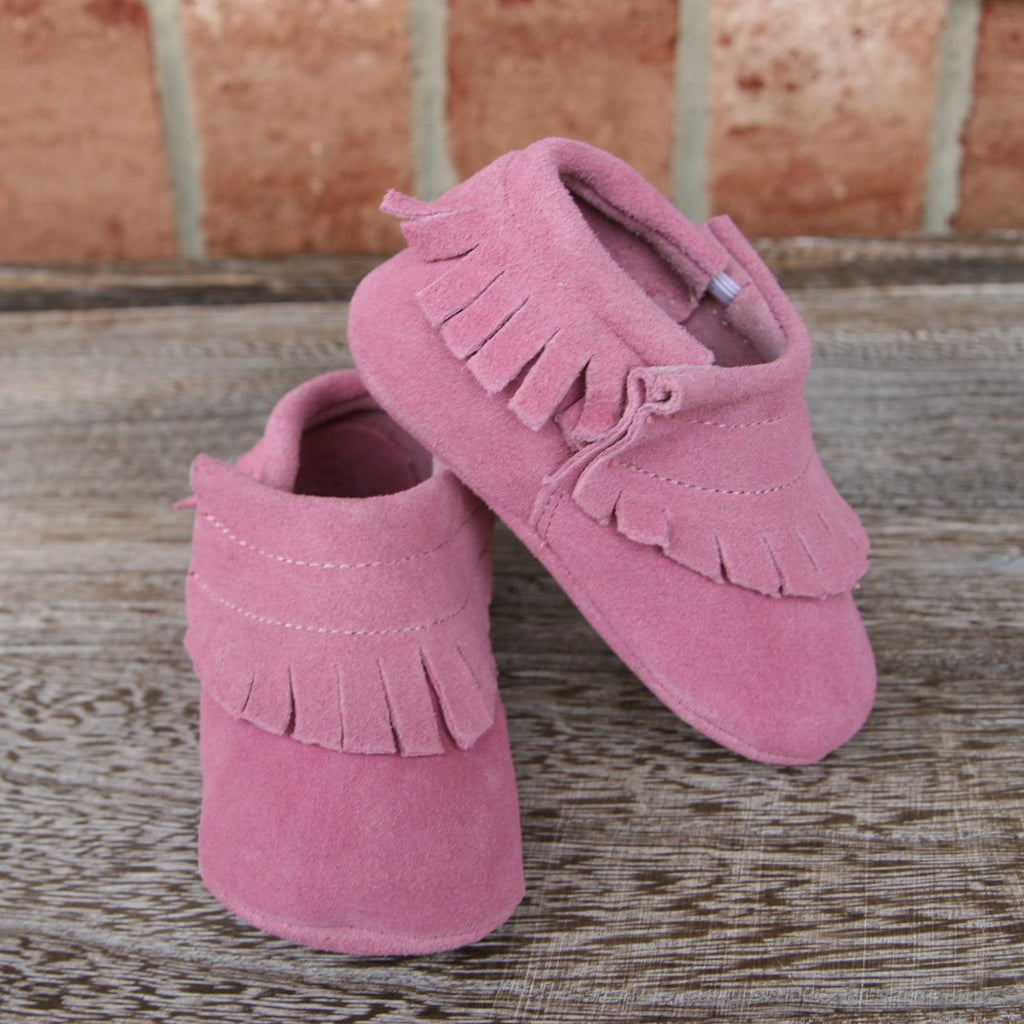 The Blake Moccasin in Pink