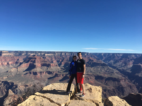 Bryce and Theresa and the Grand Canyon