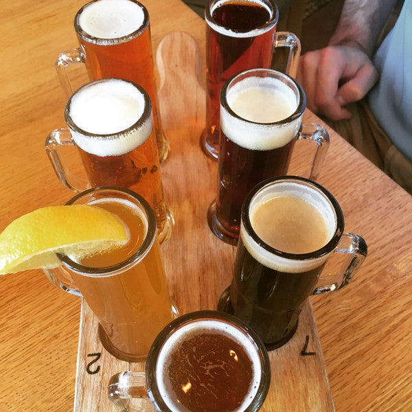 The Seven Dwarves flight of beer styles