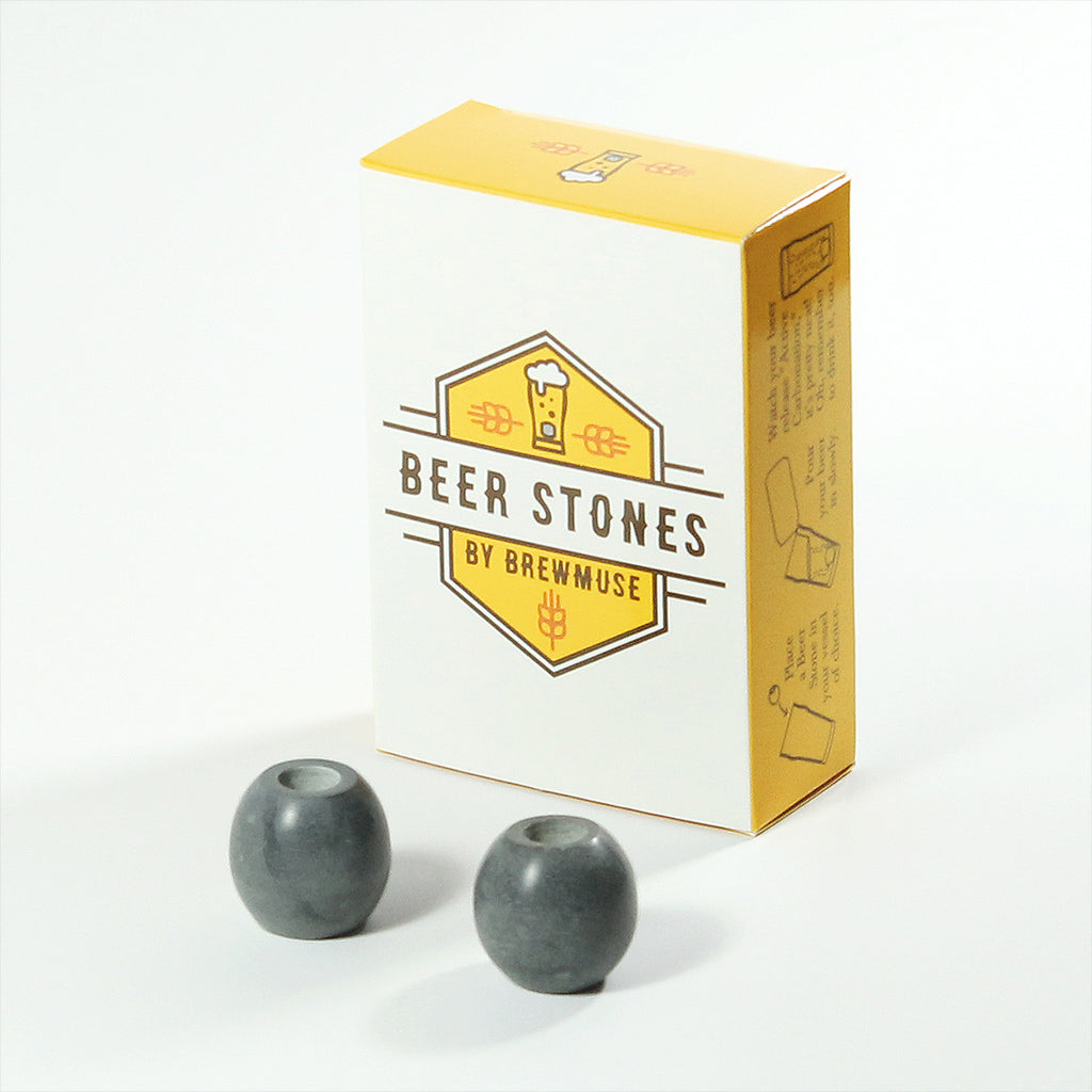 Beer Stones Set - 2 Olives - Dad and Mustache - Elevate Your Beer