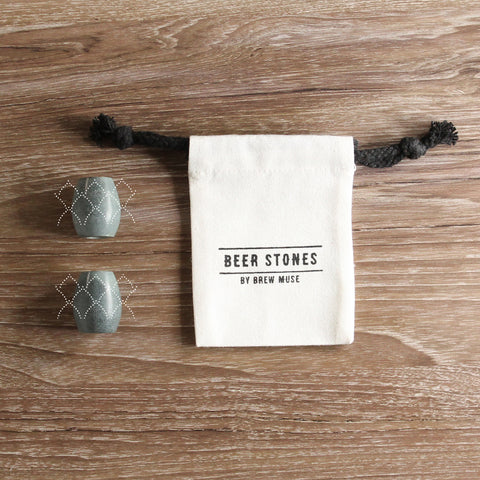 Beer Stones Set - 2 Hops - Perfect Your Pint