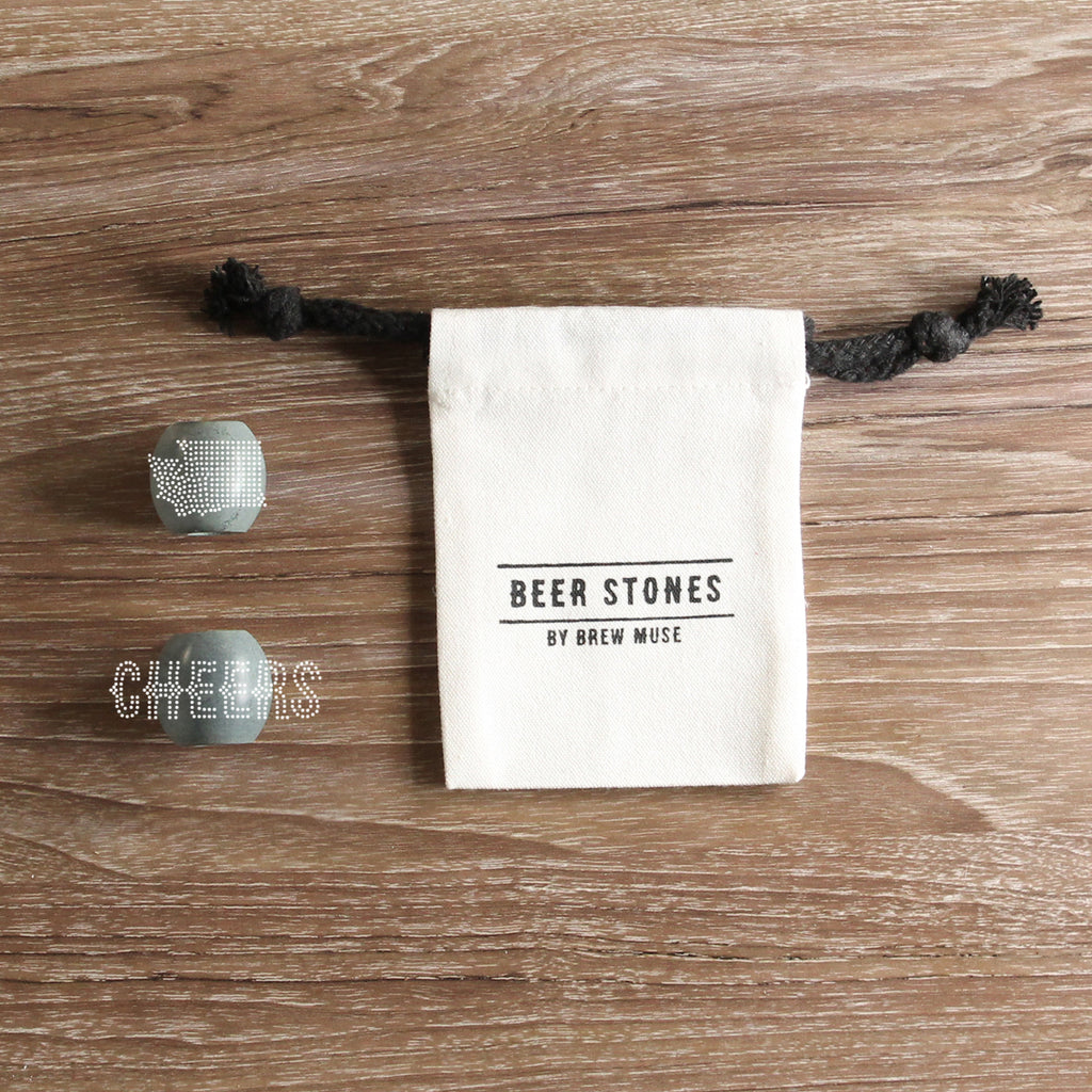 Beer Stones Set - 2 Olives - 1 Standard - 1 State - Perfect Your Pint