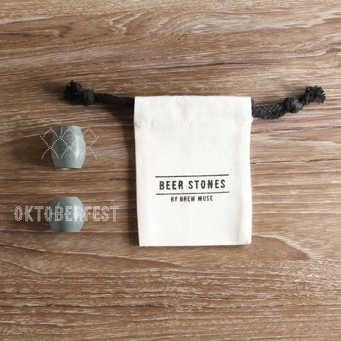 Beer Stones Set - 1 Hop 1 Olive - Oktoberfest - Elevate Your Beer