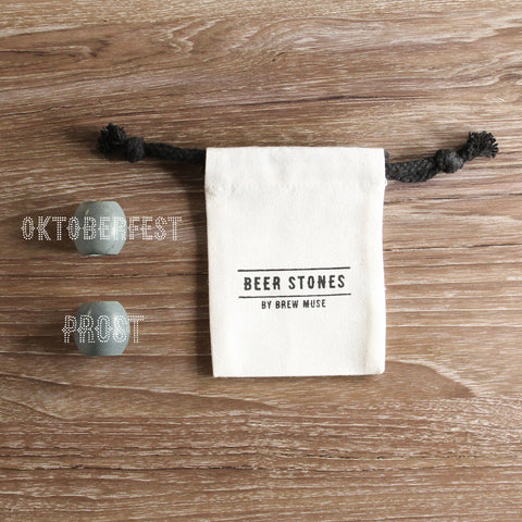 Beer Stones Set - 2 Olives - Oktoberfest - Prost - Perfect Your Pint