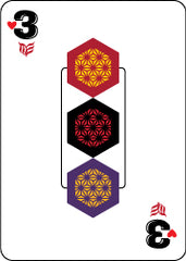 image of Modern Envy's 3 playing card
