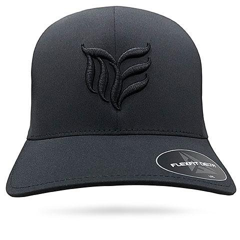 Black seamless MEA logo Flexfit hat