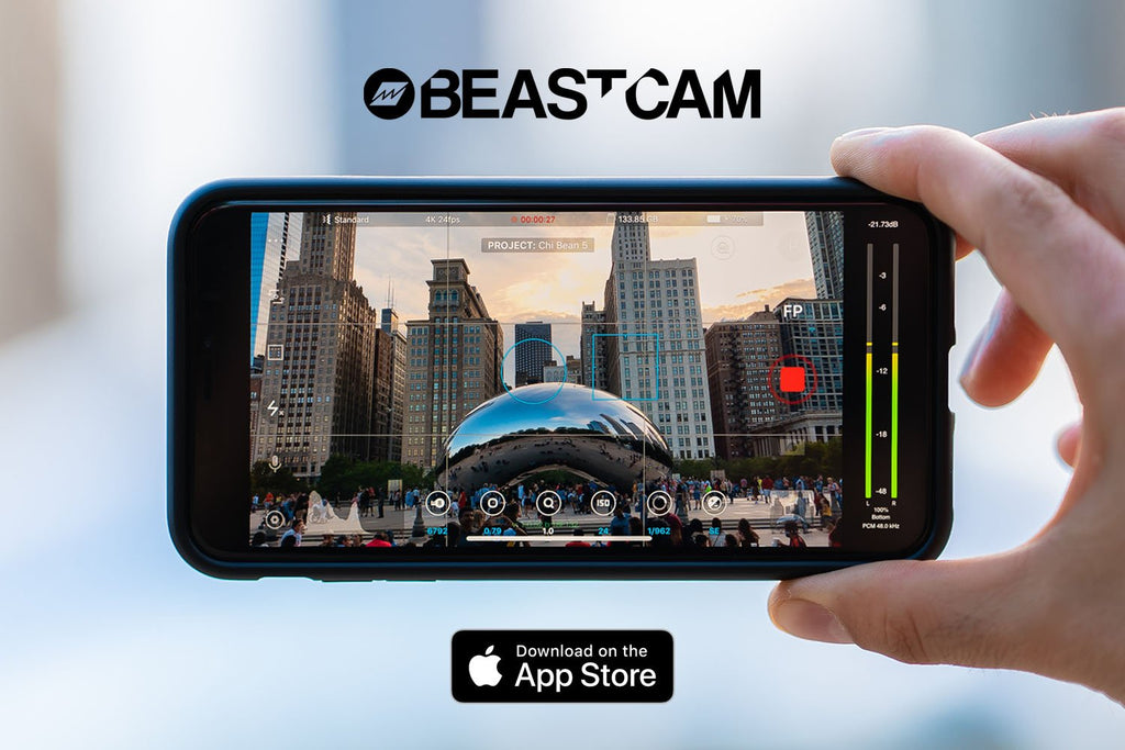 Beastcam - Pro camera app for iPhone. Now available on the App Store.
