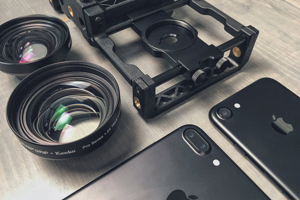 iPhone 7 and 7 Plus Camera Lens Position and Compatibility with Beastgrip Pro