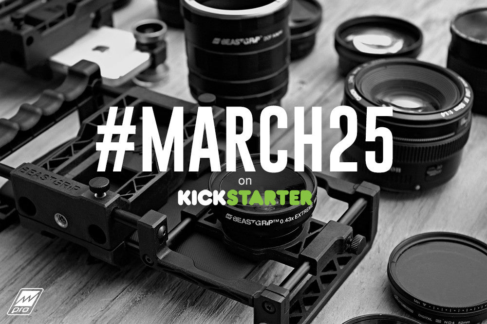 Beastgrip Pro is coming to Kickstarter on March 25! (Archived 2015)