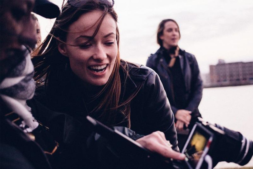 "Olivia Wilde and Reed Morano shoot Edward Sharpe and the Magnetic Zeros ""No Love Like Yours"" with the Beastgrip DOF Adapter"