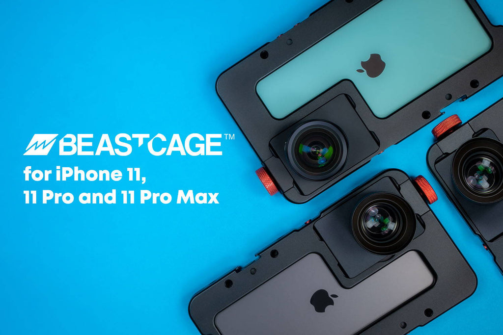All-new Beastcages for iPhone 11, 11 Pro and 11 Pro Max