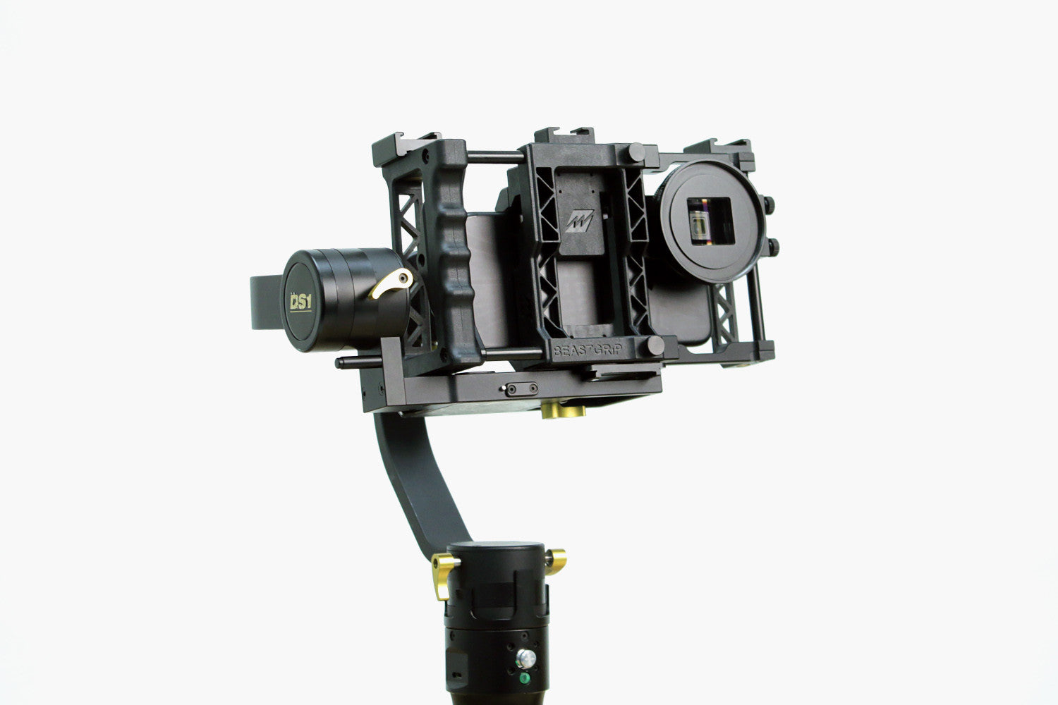 Beastgrip Pro with  a Beastgrip Pro Series 1.33X Anamorphic Lens on an Owl Dolly DS1 Gimbal