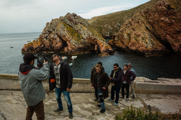 Shooting Berlengas Island Cup 2018 film commissioned by Apple with iPhone, Beastgrip Pro and DOF Adapter MK2