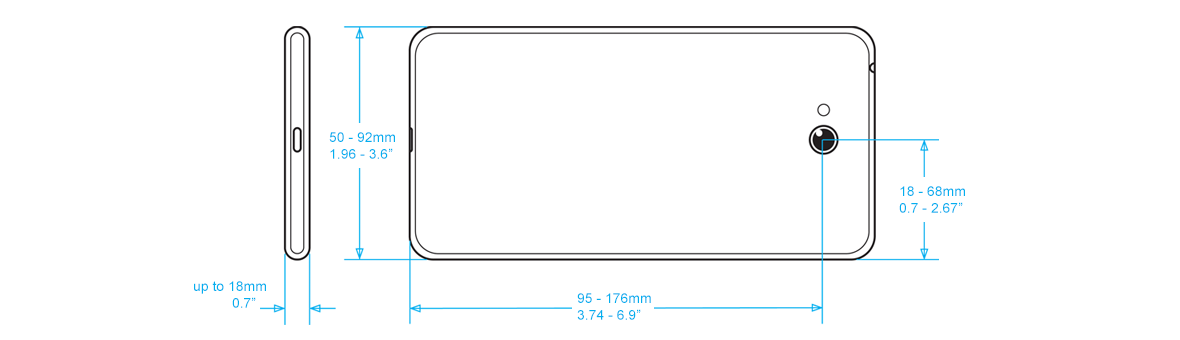 Iphone  Shipping Dimensions