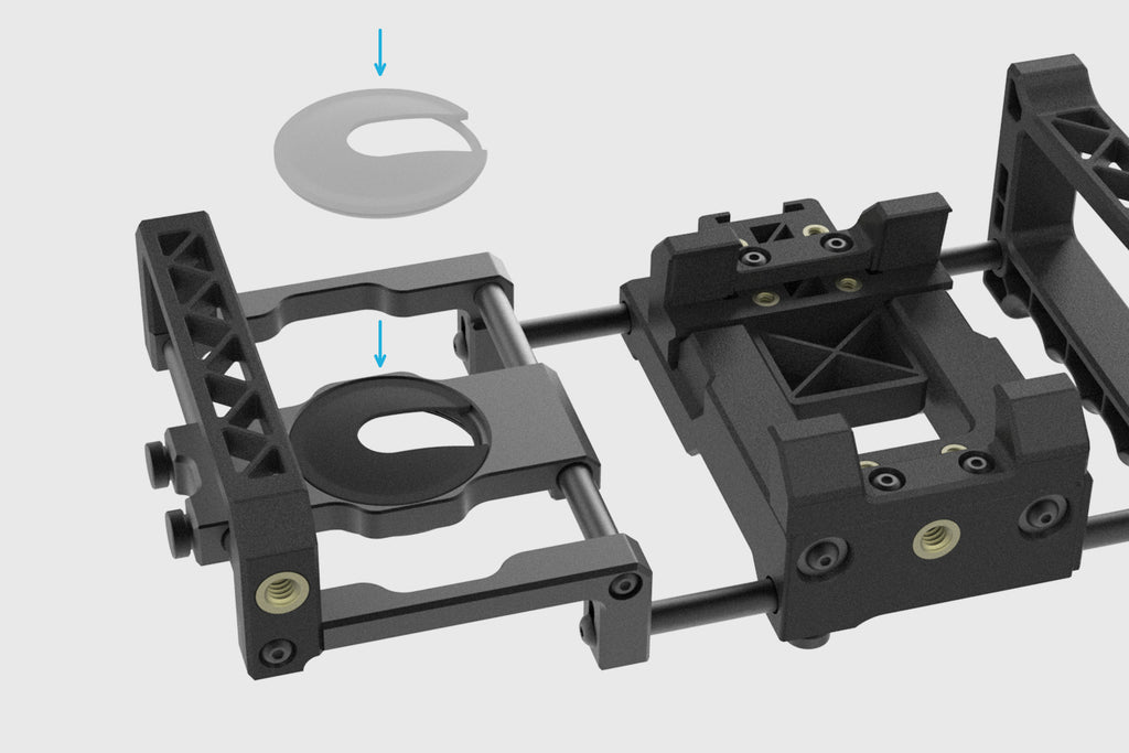 Beastgrip Rubber Insert v2 alignment with wide angle camera