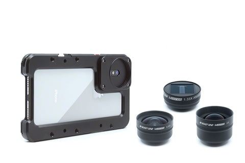 Beastcage for iPhone + M Series Lenses Bundle