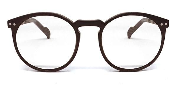 CUT EIGHTEEN OPTICAL BROWN TAN