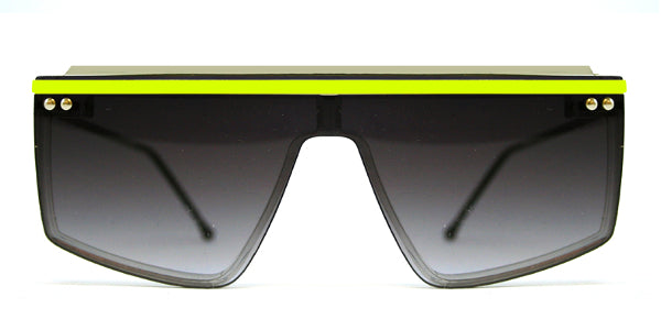 HACIENDA Clear / Neon Yellow / Black Grad
