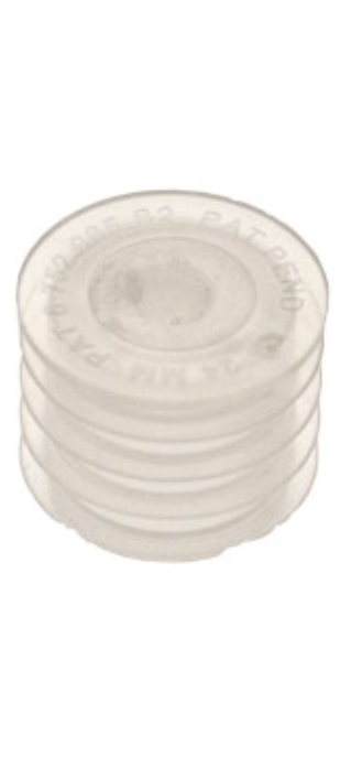 Self Sealing Bottlw Cap Syringe Insert