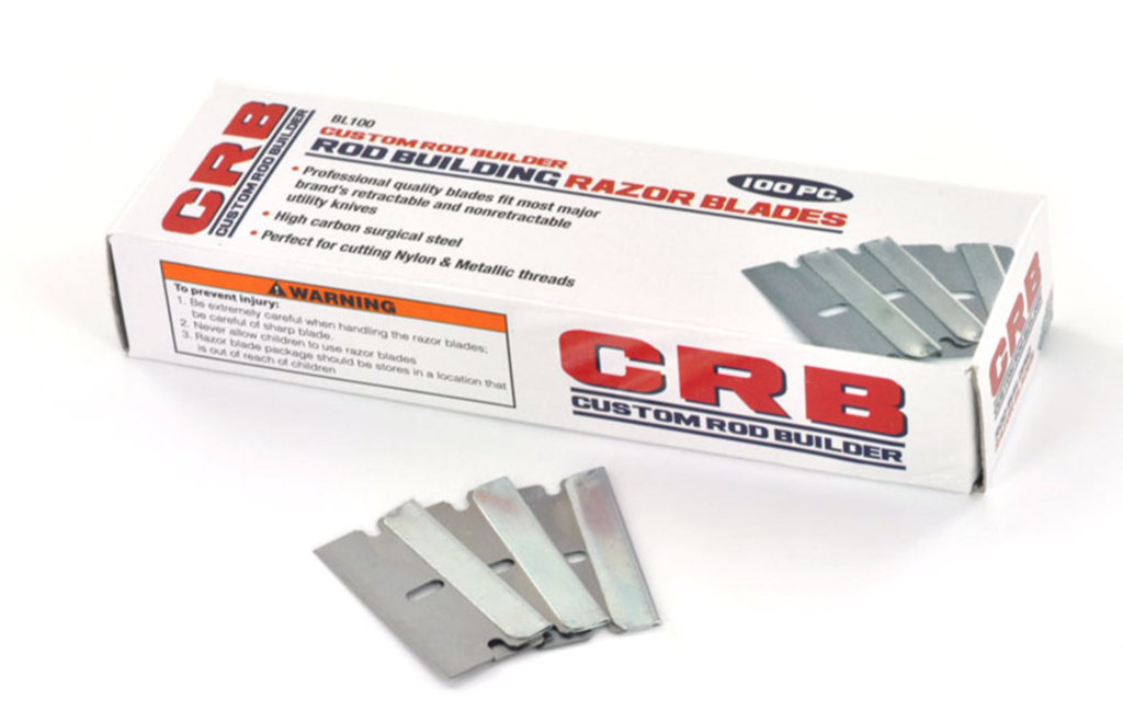 Single Edge Razor Blades box of 100