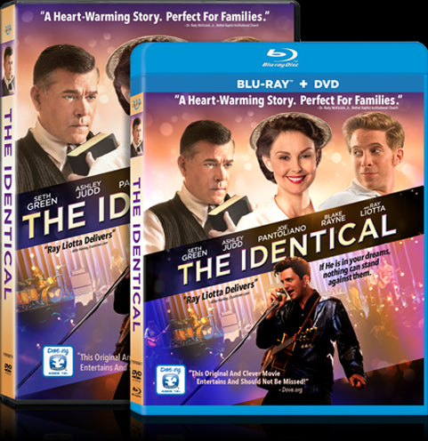 THE IDENTICAL NOW AVAILABLE ON DVD AND BLU-RAY!
