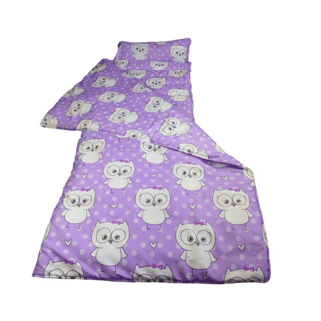 Elektra Cloud9 Junior Jumbo Travel Bed - Purple Owl