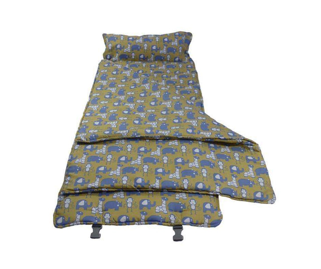Elektra Regular Plus Cloud9 Nap Mat for Child Care Travel & Sleepovers - Yellow Safari